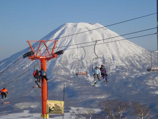 Горнолыжный курорт Нисеко в Японии