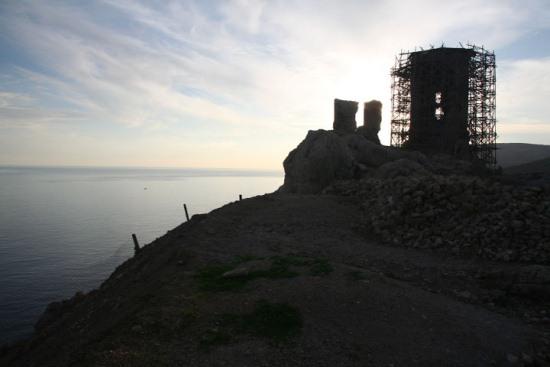 Генуэзская крепость Чембало в Севастополе