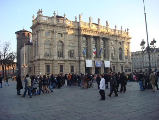 Главная площадь Турина