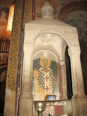Икона в монастыре Гелати