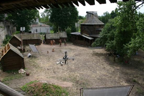 Двор Порховской крепости