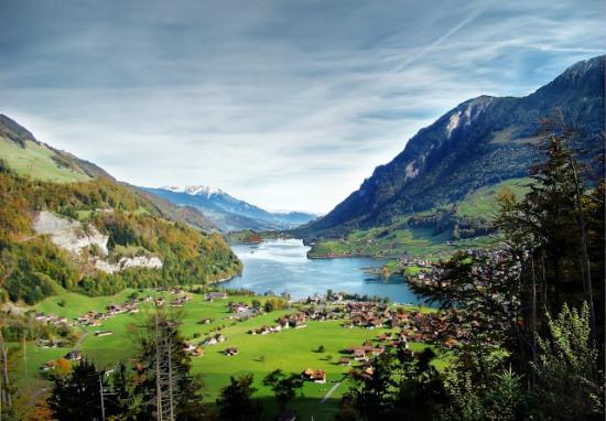 Швейцария, одна из самых красивых стран Ценральной Европы