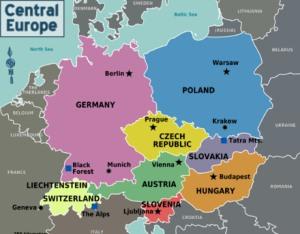Туризм в центральной Европе