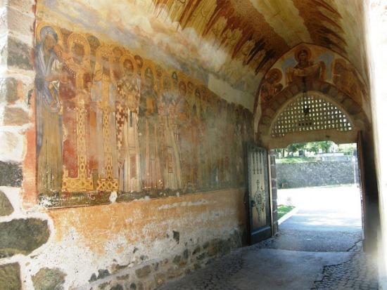 Фрески монастыря Студеница в Сербии
