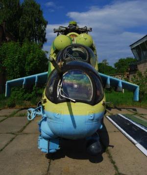Необычный экспонат музея авиации в Жуляны