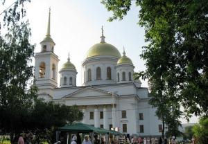 Собор Александра Невского в Екатеринбурге