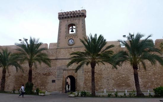 Замок Санта-Пола в городе Аликанте