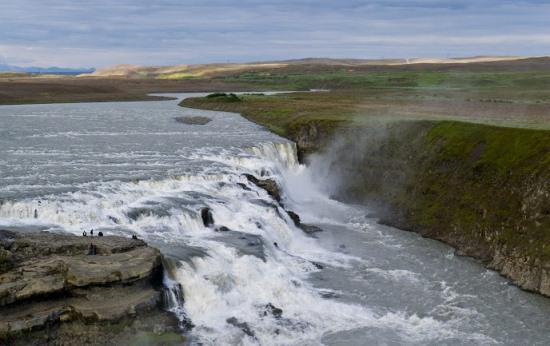 Водопад Гюдльфосс в Исландии