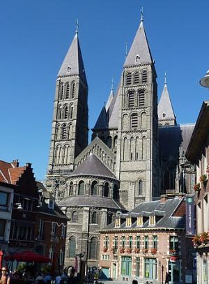 Кафедральный собор в городе Тюрне, Бельгия