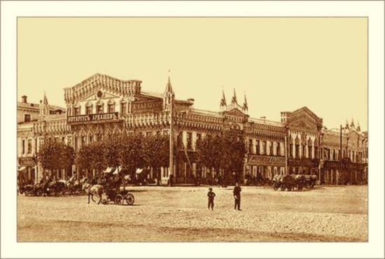 Дома купцов Коробковых в старину