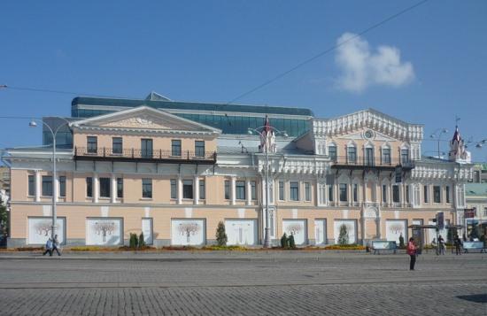 Дома купцов Коробковых в Екатеринбурге