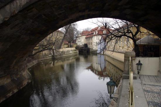 Остров Кампа в Праге
