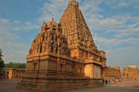 Индийский Храм Брихадешвара