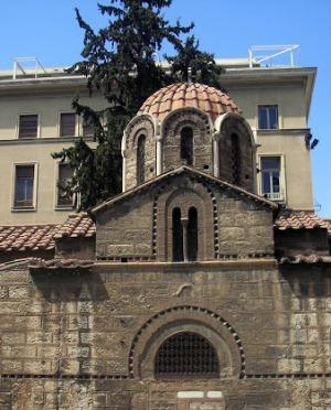 Греческая церковь на площади Синтагма