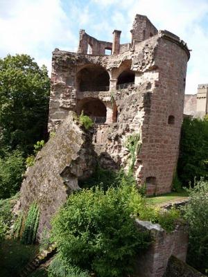 Руины Гейдельбергского замка