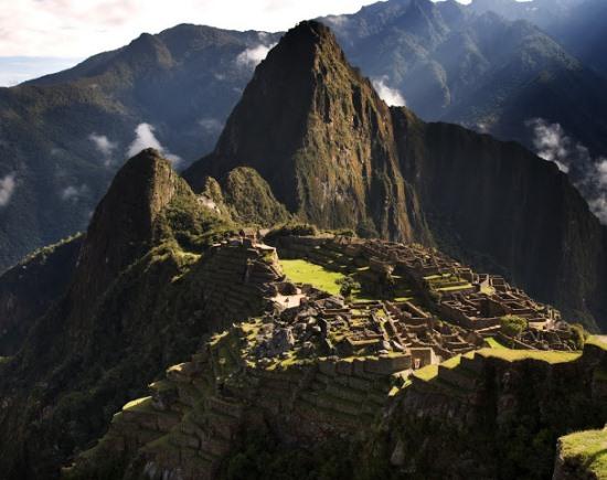 Мачу-Пикчу - город инков в Перу