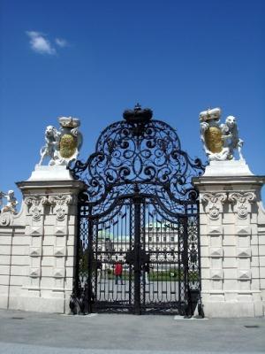 Бельведер, ворота к дворцу