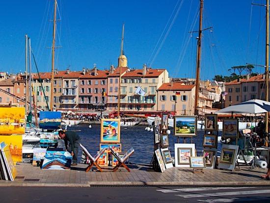 Сен-Тропе, в порту