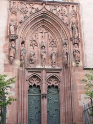 Франкфуртский собор, ворота