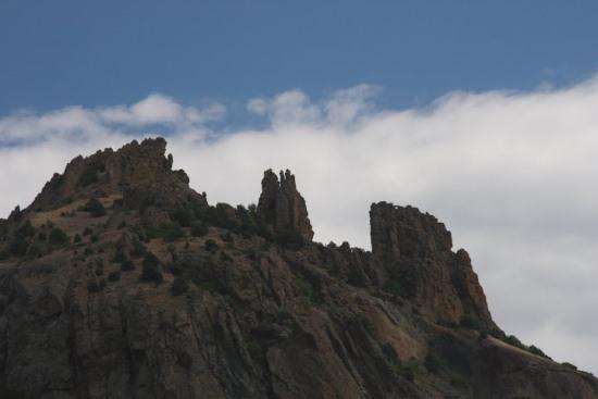 Гора Карадаг в Крыму