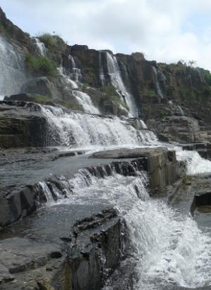 Водопады Далата