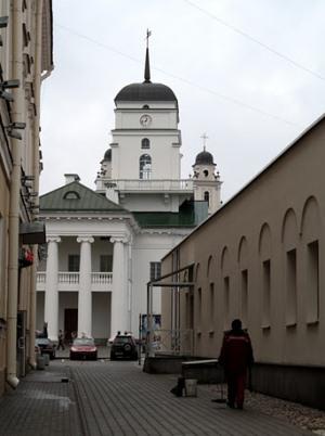 Вид на Минскую ратушу