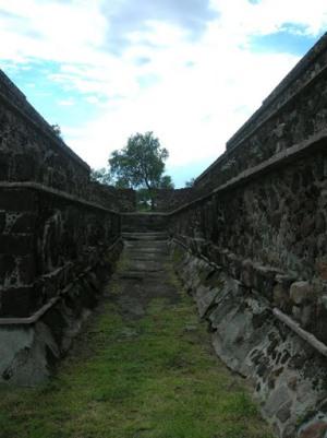 Улицы древнего города Теотиуакан