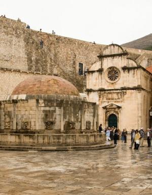 Дубровник, в историческом центре города