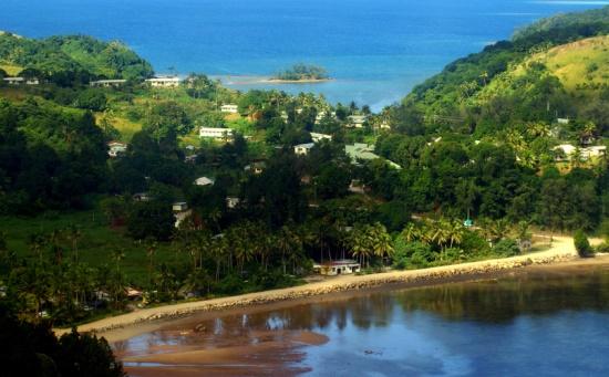 Остров Кандаву на Фиджи