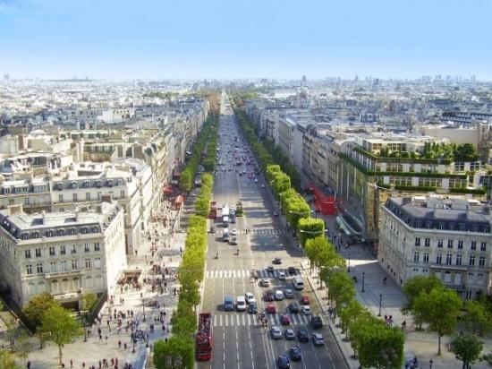 Площадь Шарля де Голля в Париже