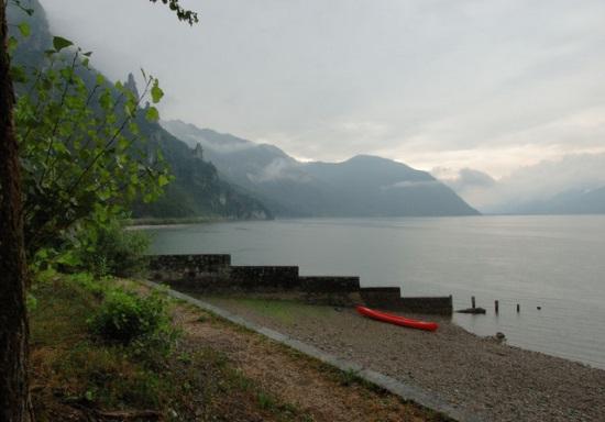 Озеро Идро в Италии