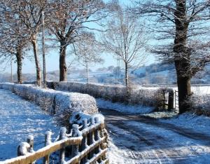 Англия зимой