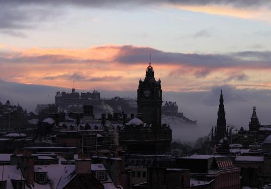 Эдинбург зимой