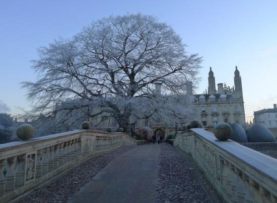 Кембридж зимой