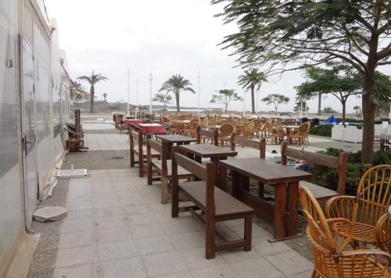 Ресторан в Фамагусте на берегу моря