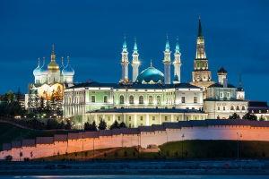 Казанский кремль - историческая цитадель Татарстана